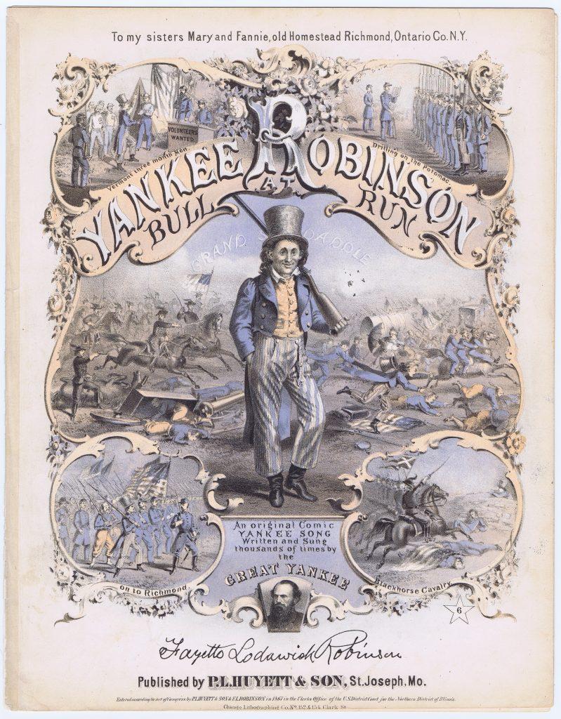 Yankee Robinson at Bull Run
