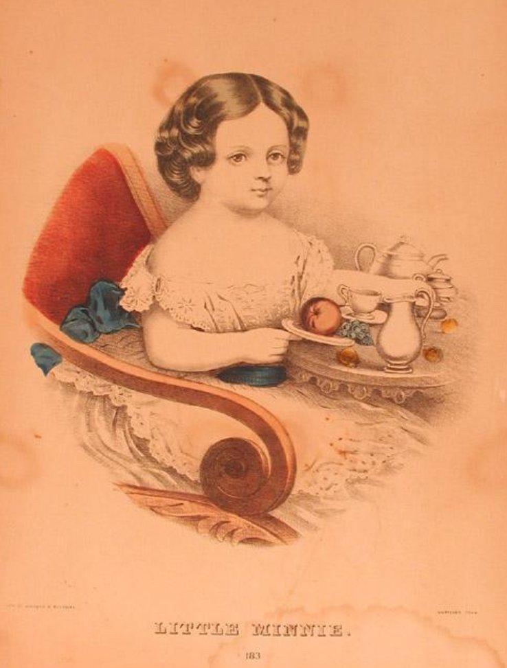 Kellogg & Bulkeley, Little Minnie [Lithograph, 1867-1871].