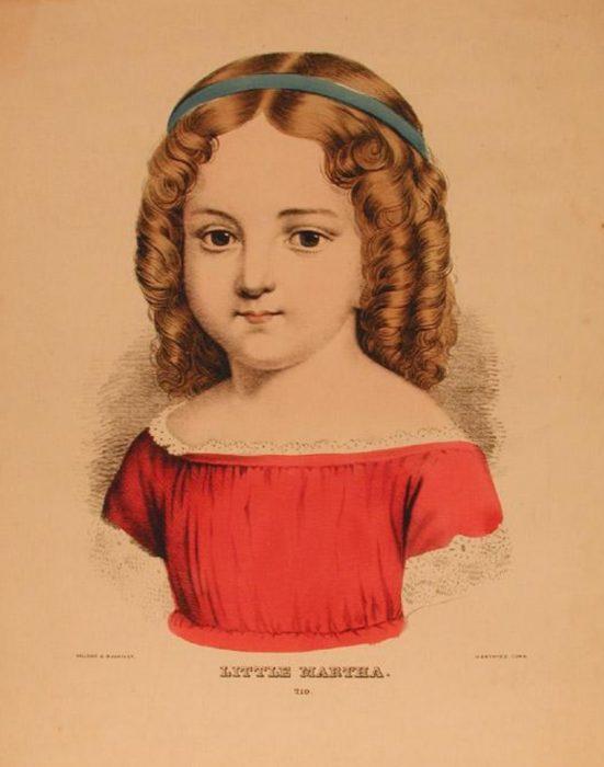 Kellogg & Bulkeley, Little Martha [Lithograph, c. 1867-1871].