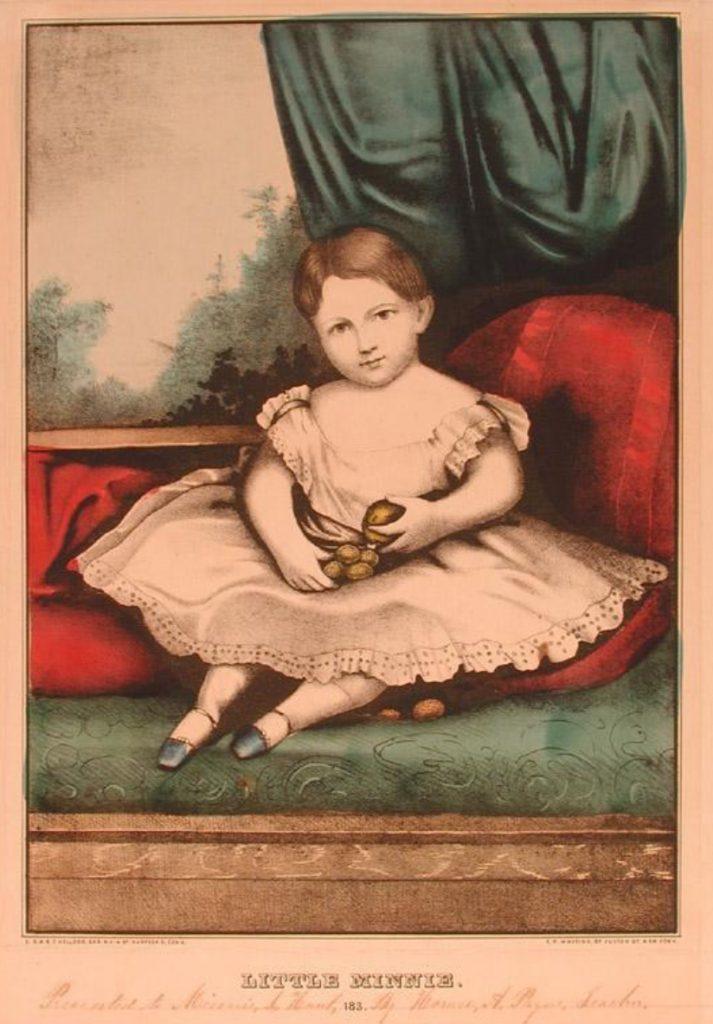 E. B. & E. C. Kellogg, Little Minnie [Lithograph, 1863-1866].