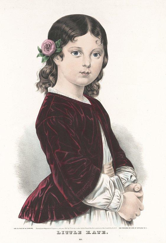 N. Currier, Little Kate [Lithograph, circa 1851].
