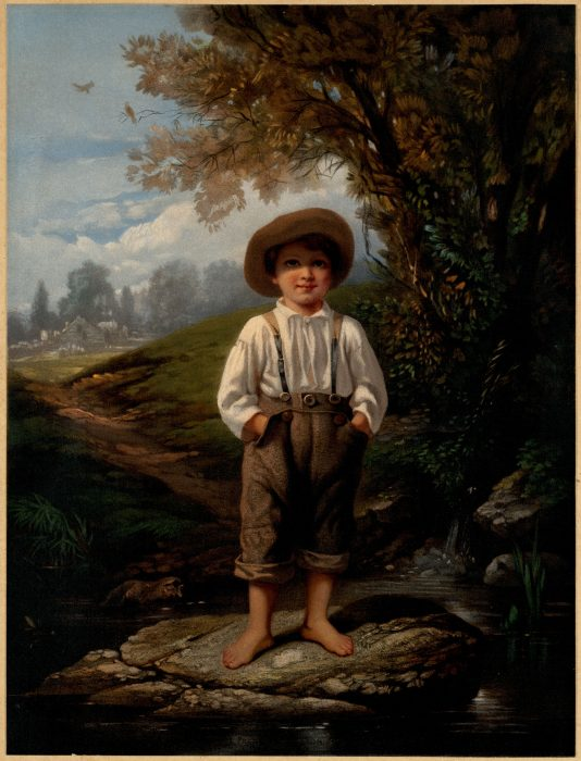 L. Prang & Co. after Eastman Johnson, The Barefoot Boy