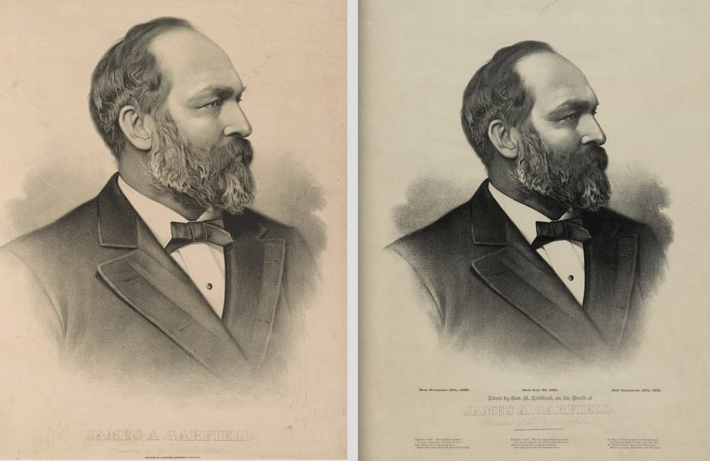 J. H. Bufford, James A Garfield. President of the United States [Lithograph, 1881]