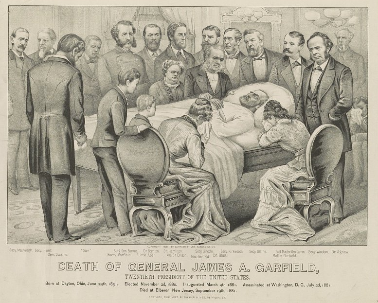 The Business of Mourning: Currier & Ives and the Death of President Garfield