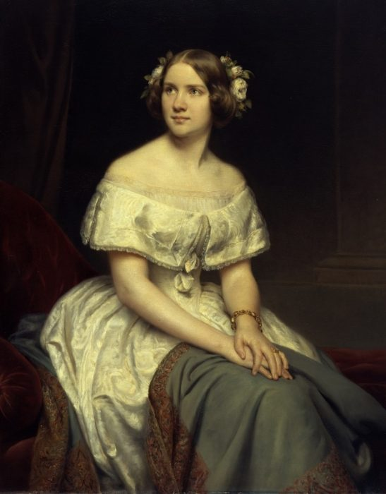 Edward Magnus, Portrait of Jenny Lind [Oil on canvas, 1846]