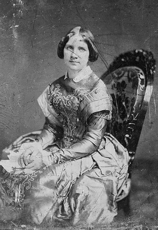 Mathew Brady Studio, Jenny Lind, three-quarter length portrait, [Daguerreotype, September 14, 1850].