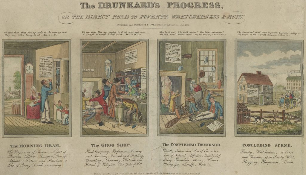 J. W. Barber, The Drunkard's Progress