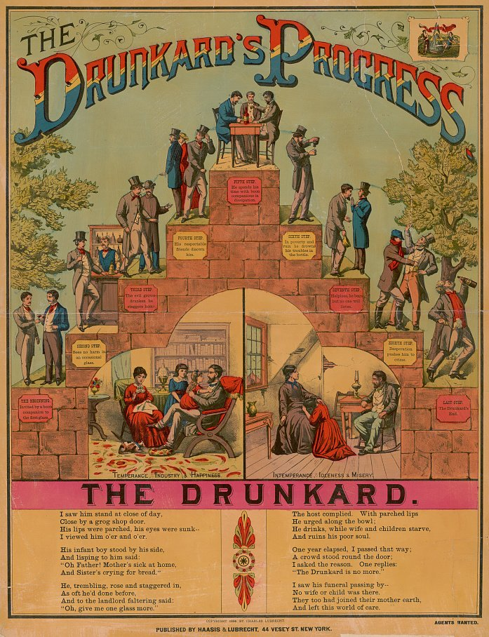 Haasis and Lubrecht, The Drunkard's Progress
