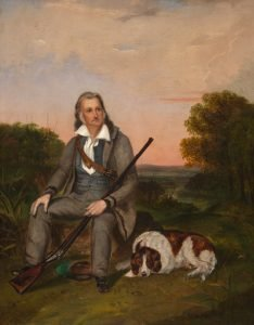 Copy of J.W. Audubon portrait of John James Audubon