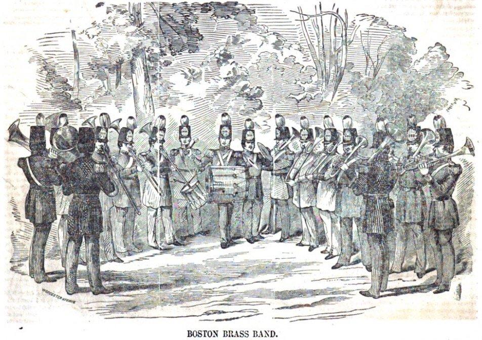 Boston Brass Band in Gleason's